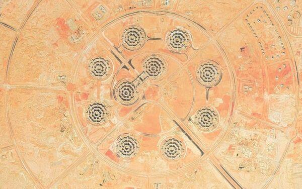 Una vista general del nuevo complejo del Ministerio de Defensa de Egipto - Sputnik Mundo