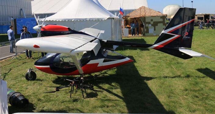 El avión dispone de un paracaídas que hace su uso completamente seguro