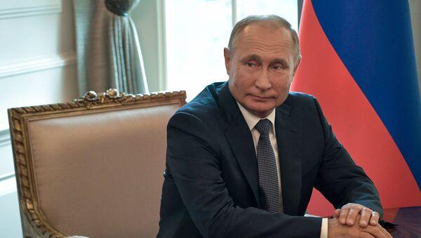 Vladimir Putin, presidente de Rusia - Sputnik Mundo