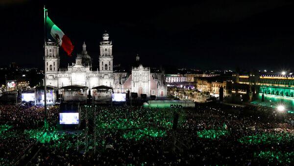 La celebración del Día de la Independencia en México - Sputnik Mundo