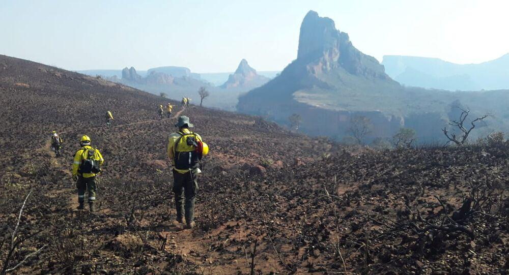 Consecuencias de los incendios forestales en Santa Cruz, Bolivia