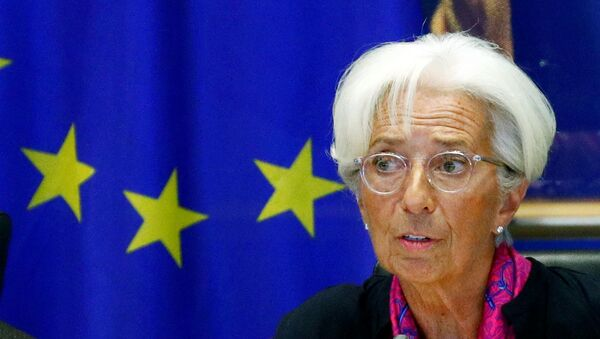 Christine Lagarde, futura presidenta del Banco Central Europeo - Sputnik Mundo