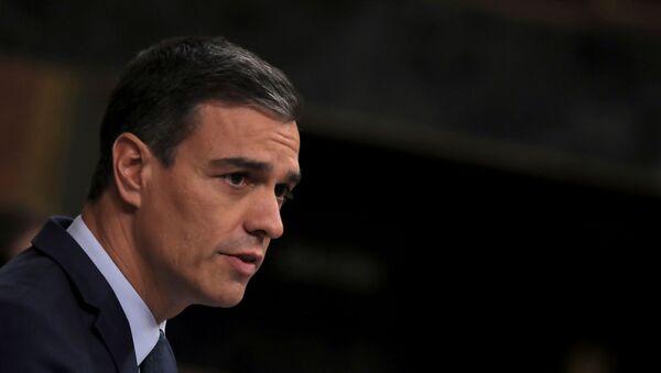 Pedro Sánchez, presidente interino del Gobierno de España - Sputnik Mundo