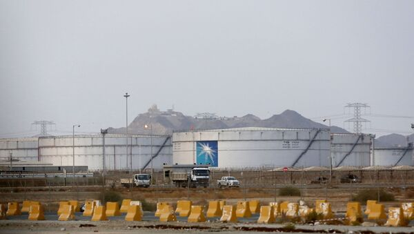 Instalación petrolera de la empresa Saudi Aramco - Sputnik Mundo