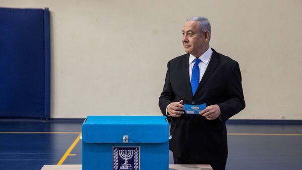Benjamín Netanyahu, el primer ministro israelí - Sputnik Mundo