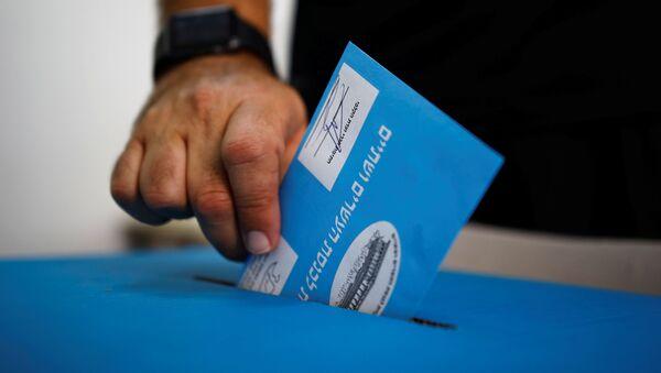 Elecciones en Israel - Sputnik Mundo