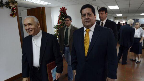 Edgar Zambrano, vicepresidente de la Asamblea Nacional - Sputnik Mundo