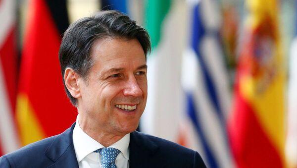 Giuseppe Conte, el primer ministro de Italia, - Sputnik Mundo