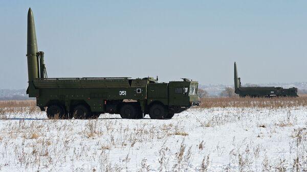 Sistemas de misiles Iskander-M (archivo) - Sputnik Mundo