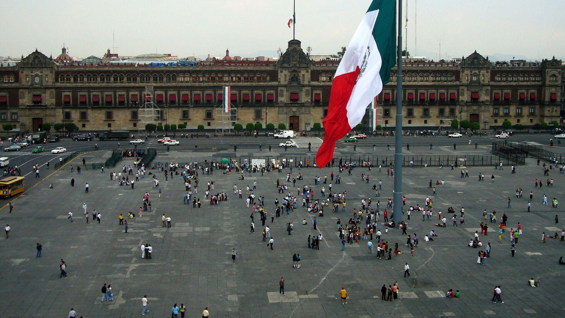 La Plaza de la Independencia de Ciudad de México - Sputnik Mundo, 1920, 03.05.2021