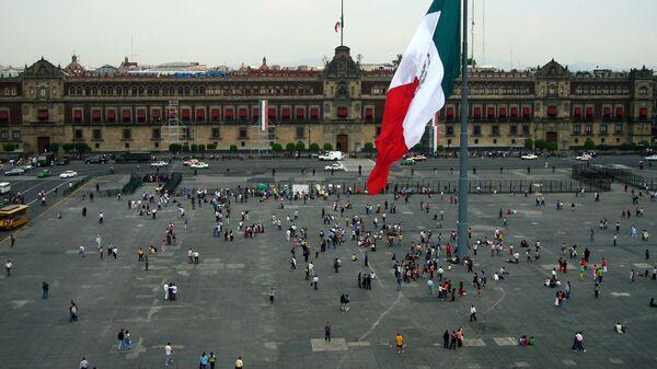 La Plaza de la Independencia de Ciudad de México - Sputnik Mundo