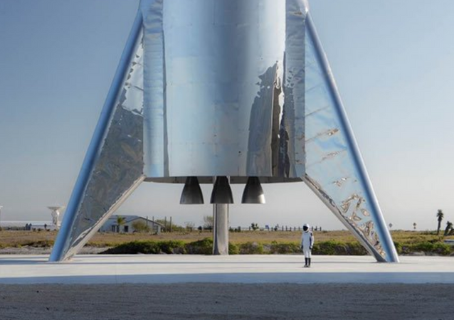 El cohete de SpaceX Starship