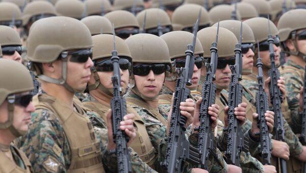 Los militares chilenos - Sputnik Mundo