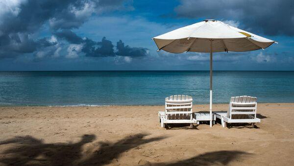 Una playa en Big Corn Island - Sputnik Mundo