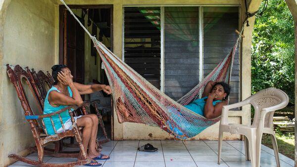 Residentes de Big Corn Island  - Sputnik Mundo