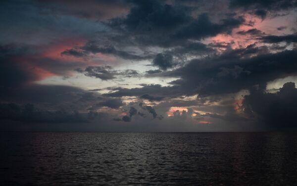 Puesta del sol en Big Corn Island - Sputnik Mundo