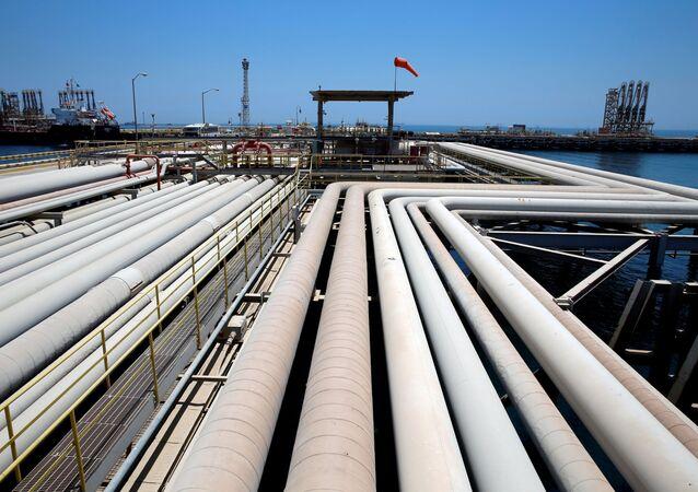 La refinería Saudi Aramcro (archivo)