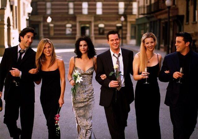 Los protagonistas de la serie Friends