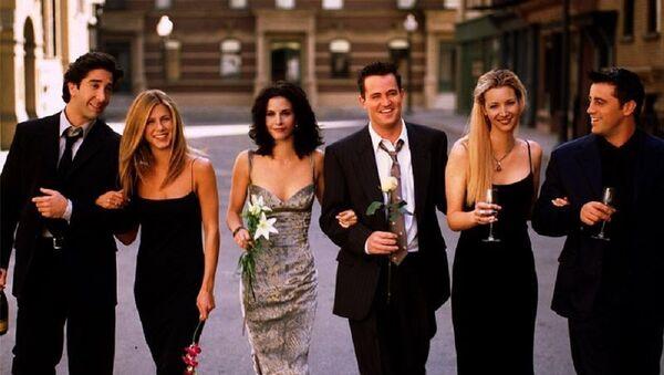 Los protagonistas de la serie Friends - Sputnik Mundo