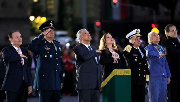 La ceremonia en honor de las víctimas de sismos en México - Sputnik Mundo
