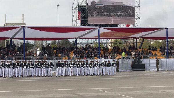 La Parada Militar en Chile - Sputnik Mundo
