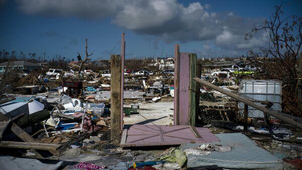 Consecuencias del huracán Dorian en Bahamas - Sputnik Mundo