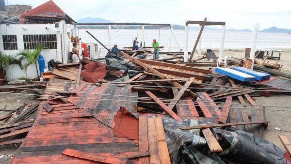 Consecuencias de la tormenta tropical Lorena en México - Sputnik Mundo