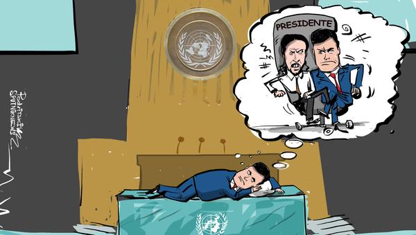 Sánchez afirma que no dormiría por la noche si Podemos estuviese en el Gobierno - Sputnik Mundo
