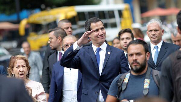 El diputado opositor venezolano, Juan Guaidó - Sputnik Mundo