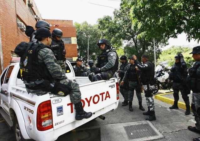Fuerzas de seguridad de Venezuela (Archivo)