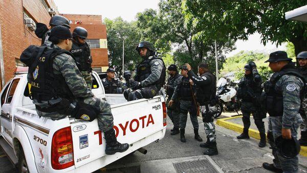 Fuerzas de seguridad de Venezuela (Archivo) - Sputnik Mundo