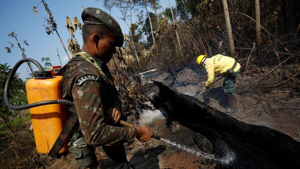 Fuerzas Armadas de Brasil en Amazonía - Sputnik Mundo