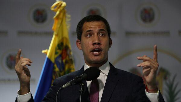 Juan Guaidó, líder opositor de Venezuela - Sputnik Mundo