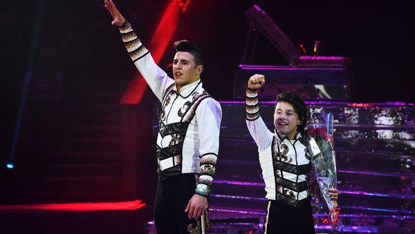 El dúo colombiano, Martinez Bros, vencedores del VII Festival Internacional de Arte Circense Idol - Sputnik Mundo