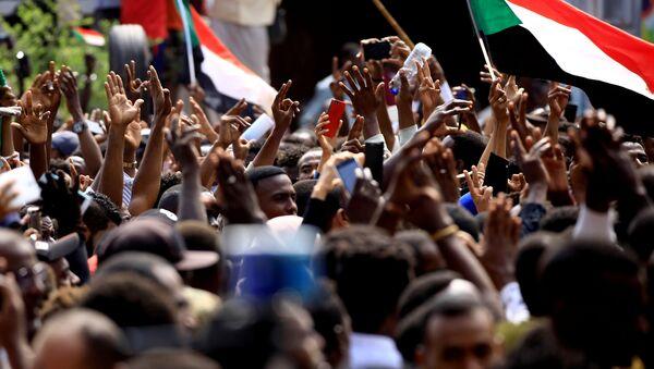 Protestas en Sudán (Archivo) - Sputnik Mundo