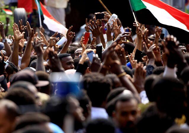 Protestas en Sudán (Archivo)