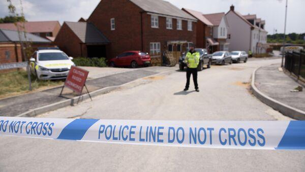 Lugar del envenenamiento en Amesbury, Reino Unido - Sputnik Mundo