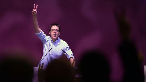 Iñigo Errejón, uno de los líderes del partido político 'Más Madrid' - Sputnik Mundo