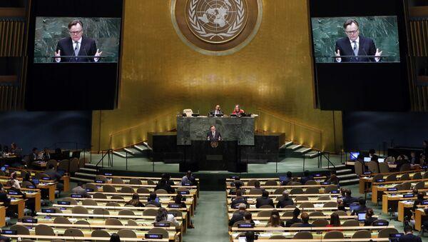 El 73º período de sesiones de la Asamblea General de las Naciones Unidas - Sputnik Mundo