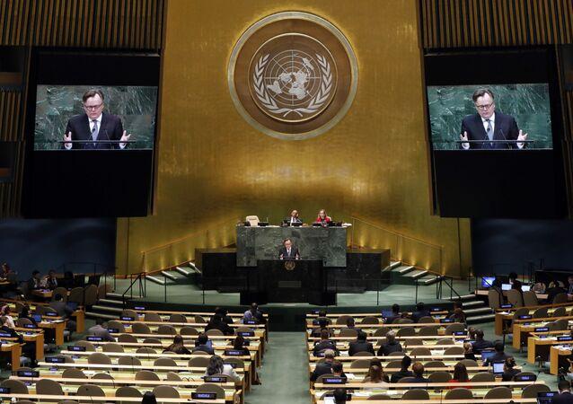 Período de sesiones de la Asamblea General de las Naciones Unidas