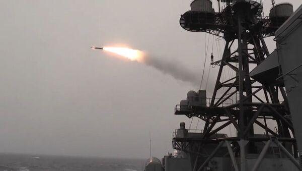 Los buques de la Armada rusa muestran todo su poderío - Sputnik Mundo
