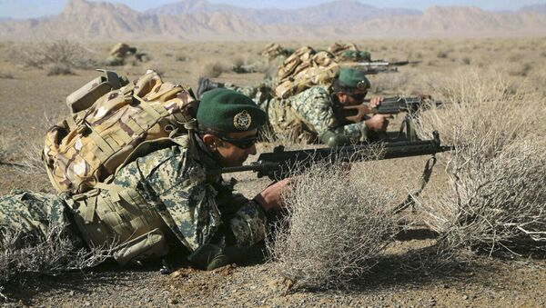 Soldados iraníes - Sputnik Mundo
