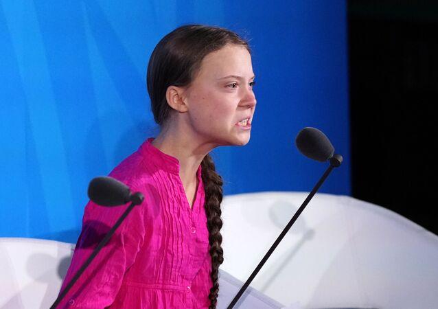 Greta Thunberg, activista ambiental sueca