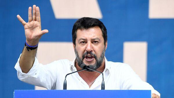 Matteo Salvini, el exvicepresidente del Gobierno italiano - Sputnik Mundo