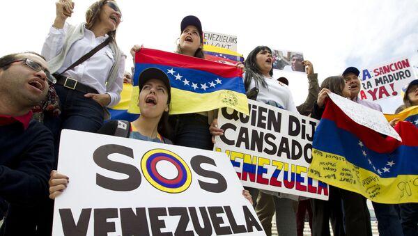 La situación en Venezuela - Sputnik Mundo