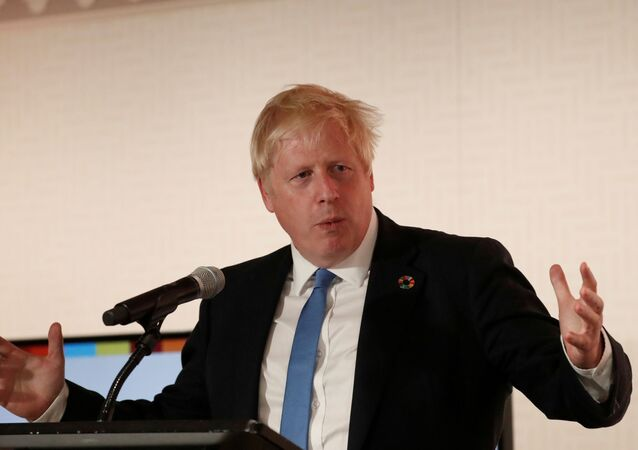 Boris Johnson, el primer ministro del Reino Unido