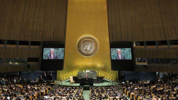 Debate general de la Asamblea General de las Naciones Unidas - Sputnik Mundo