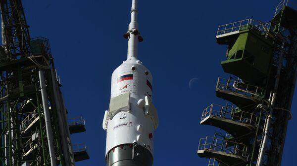 La nave espacial rusa Soyuz MS-15 - Sputnik Mundo