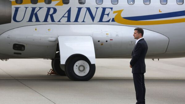 El presidente de Ucrania, Volodimir Zelenski - Sputnik Mundo