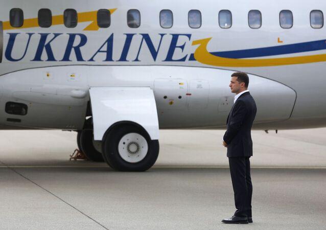 El presidente de Ucrania, Volodimir Zelenski